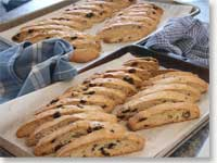 Champagne Orange Cranberry Biscotti