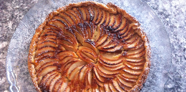 Apple Torte Normandie